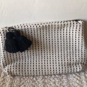 Zara oversized clutch